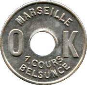 OK 1 Cours Belsunce Marseille [13] – reverse