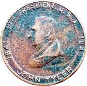 Token - John Tyler (Accidental President) – obverse