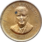 Token - Presidential Hall of Fame (John F. Kennedy) – obverse