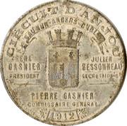 Souvenir Circuit d'Anjou – obverse