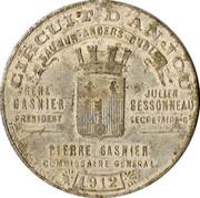Souvenir Circuit d'Anjou – reverse