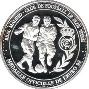 Token - UEFA 1992 (Real Madrid) – reverse