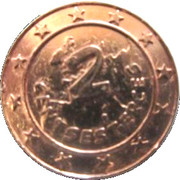 2 Centsesterces - Nutella (Bonemine) – reverse