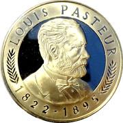 Token - Louis Pasteur (100th Anniversary) – obverse