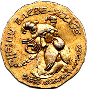 Nutella Token - Asterix (Barbe-Rouge) – obverse