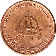Token - Oschatz Landeserntedankfest – reverse