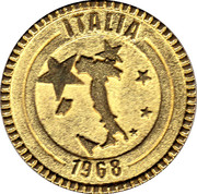 Nutella Token - Magic Goal 2000 (Italia) – obverse