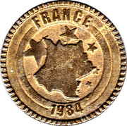 Nutella Token - Magic Goal 2000 (France) – obverse
