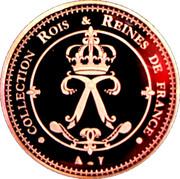 Collection Rois et Reines de France - Louis XIV – reverse
