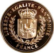 Société Française des monnaies - L'appel du 18 juin- Vive la France – reverse