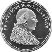 Médaille - Pape François 2013 – obverse