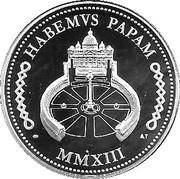 Médaille - Pape François 2013 – reverse