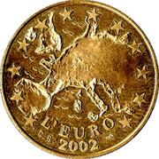 Le Franc 1796 - L'Euro 2002 – reverse