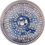 Token - 2006 World Cup, Germany – obverse