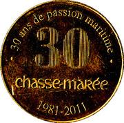 Chasse Marée - 30 ans de passion maritime – obverse