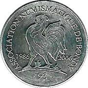 association numismatique de bondy – obverse