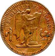 20 Francs (Génie IIe république) – obverse