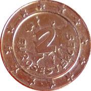 2 Eurosesterces - Nutella (Obelix) – reverse
