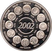 France-Essai-Naissance de l'euro fiduciaire – obverse