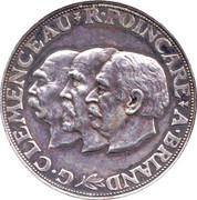 Essai de 20 francs Clémenceau-Poincaré-Briand – obverse