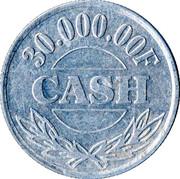 30 000,00 F Cash – reverse