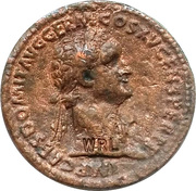 Replica WRL - Reproduction Sestertius of Domitian (Soldiers) – obverse