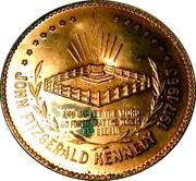 "Medallion - Sudbury ""Numismatic Park"" (Kennedy Half Dollar Memorial) – reverse"