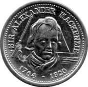 Token - Canadian Explorers (Sir Alexander Mackenzie) – obverse