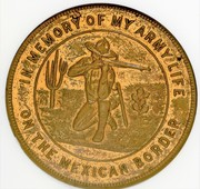 Medal - Army Life on Mexican Border – obverse