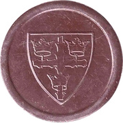 3 Pence Transport Token - Colchester – obverse