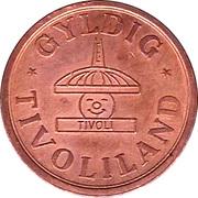 10 Kronen - Gyldig Tivoliland – obverse