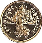 Token - 1 Franc – obverse