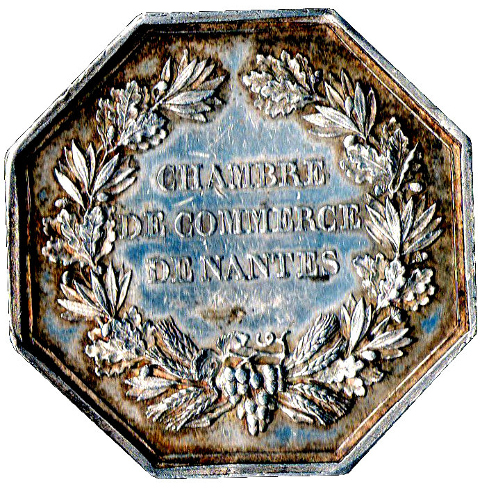 Jeton chambre de commerce de nantes tokens numista for Chambre de commerce nantes