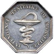 Intendance sanitaire de Marseille-LOUIS PHILIPPE 1er – reverse