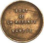 Péage du Pont de la Rotonde - Nantes – obverse