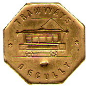 Tramways D Ecully – obverse