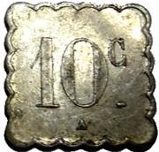 10 Centimes - Tramways (La Rochelle) – reverse