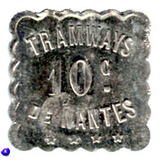 10 Centimes Tramways de Nantes [44] – obverse