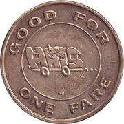 1 Fare - Fairbanks North Star – reverse