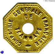 15 Centimes - Compagnie Générale Française de Tramways (Orléans) – obverse