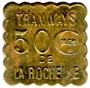 50 Centimes Tramways - La Rochelle [17] – obverse