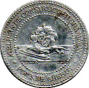 10 Centimes Limoges 87 – obverse