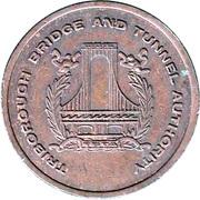 Token - Triborough Bridge And Tunnel Authority (Marine Henry Hudson Cross Bay; New York) – obverse