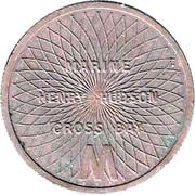 Token - Triborough Bridge And Tunnel Authority (Marine Henry Hudson Cross Bay; New York) – reverse