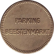 Parking Token - Beestenmarkt (Delft) – obverse