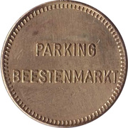 Parking Token - Beestenmarkt (Delft) – reverse