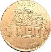 25 Cents - Fun City Pizza – obverse