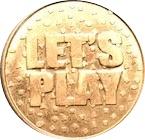 Amusement Token - Fun City Pizza (Let's Play) – reverse