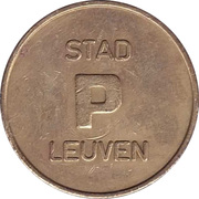 Parking Token - Stad Leuven – obverse