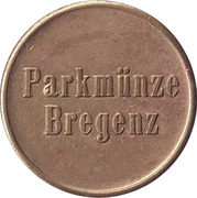 Parking Token - Bregenz – obverse